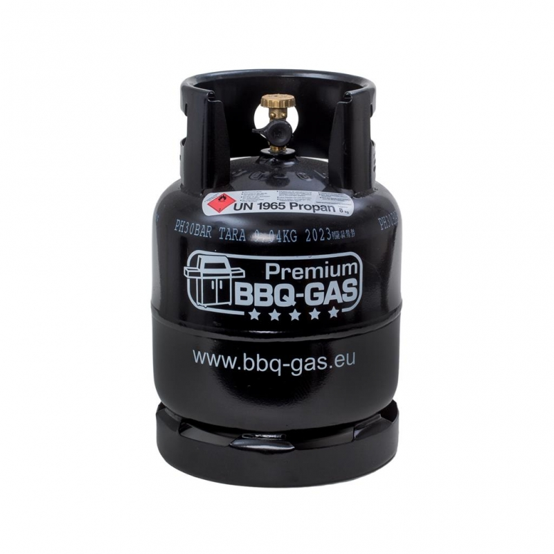 premium bbq gas flasche f r 8 kg propangas 61 50. Black Bedroom Furniture Sets. Home Design Ideas