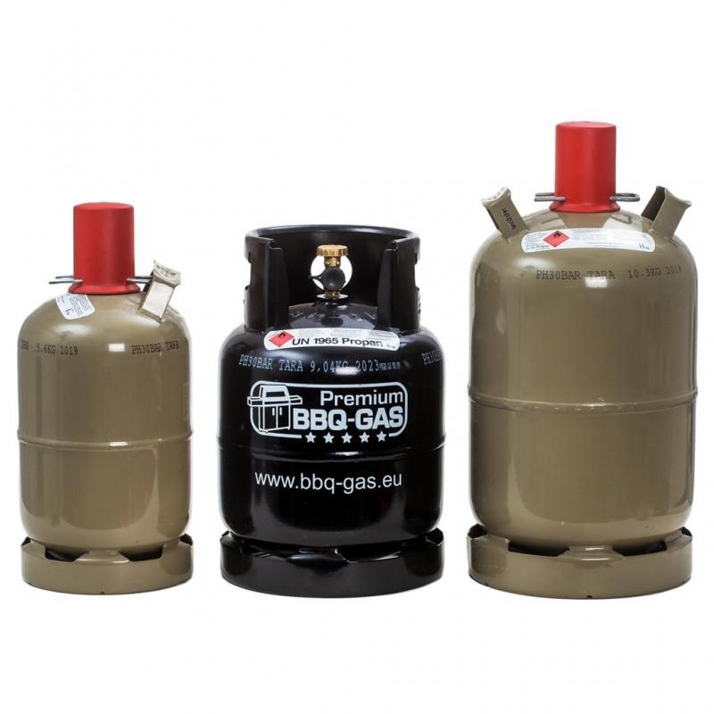 premium bbq gas flasche f r 8 kg propangas 61 50. Black Bedroom Furniture Sets. Home Design Ideas