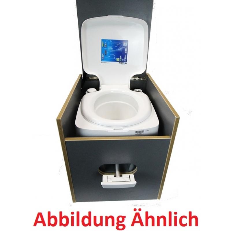 Toiletten Hocker Bi Pot 39 Ink Polster Schwarz Und Toilette Staura