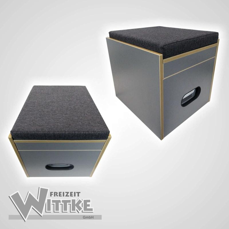 toiletten hocker porta potti 145 345 inkl polster schwarz ohne toile. Black Bedroom Furniture Sets. Home Design Ideas