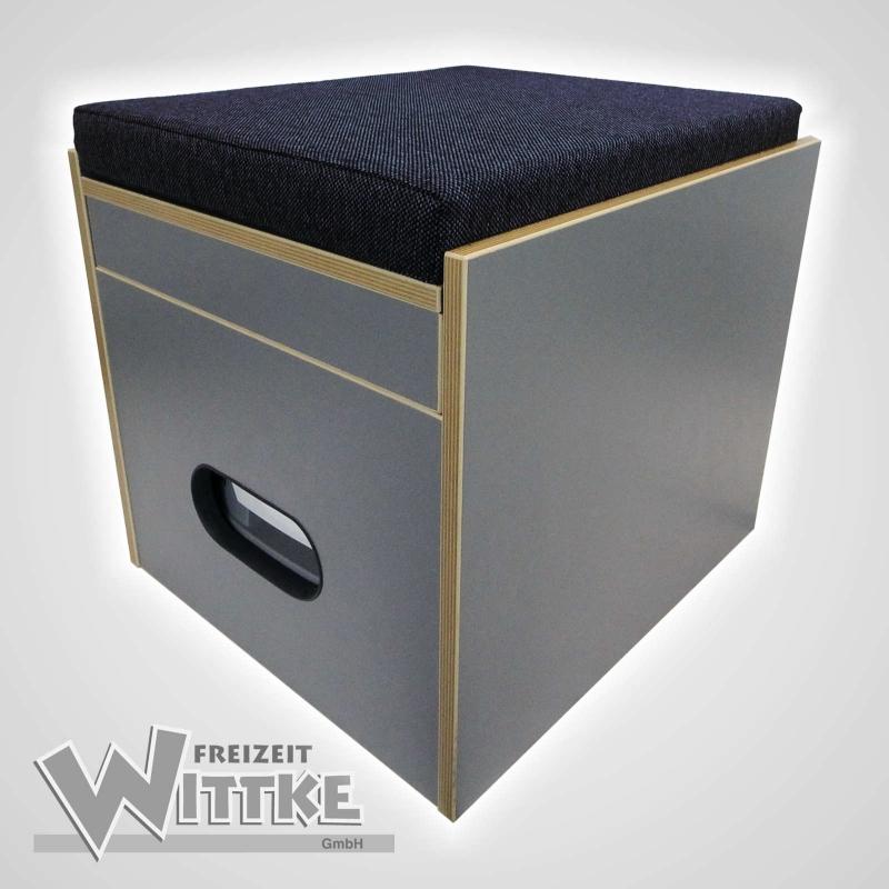 toiletten hocker porta potti 335 inkl polster blau ohne toilette 21. Black Bedroom Furniture Sets. Home Design Ideas