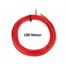 KFZ Universalkabel - FLRY Typ B - 4mm² - Plusleitung - Rot 100 Meter