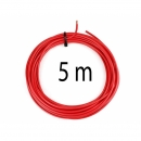 KFZ Universalkabel - FLRY Typ B - 6mm² - Plusleitung - Rot 5 Meter