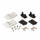 WALL BRACKETS PLASTIC (2PCS)
