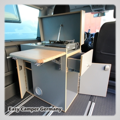 Küchenblock Easy Camper Germany - Universell für alle Campingfahrzeuge
