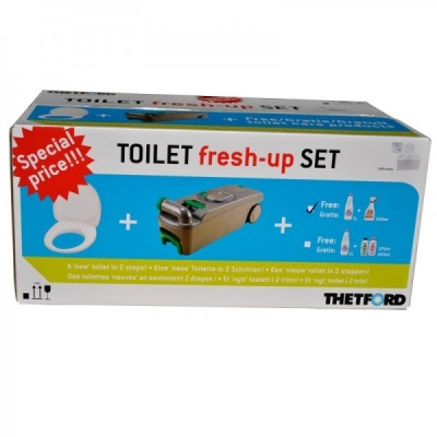 Thetford Fresh-up-Set für die C400 Toilette