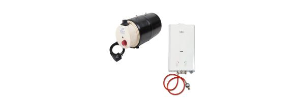 Boiler · Durchlauferhitzer