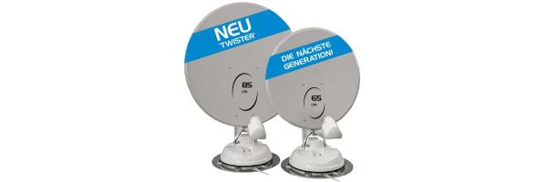 Manuelle Sat-Antennen zur Festmontage