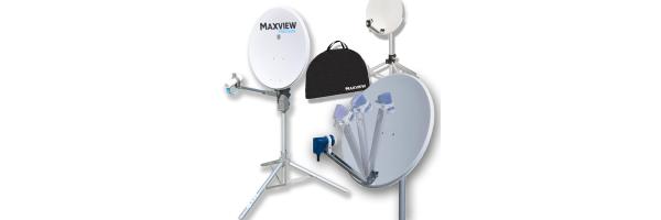 Manuelle Sat-Antennen · Portable-Sat-Kit's