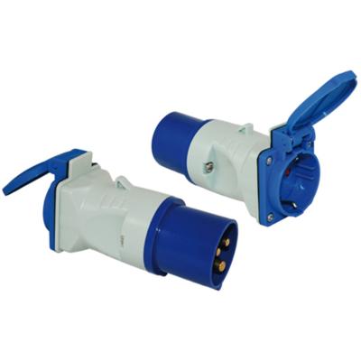 Adapter CEE-Stecker-Schukokupplung