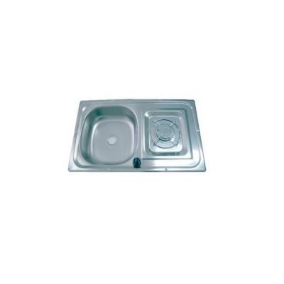 Einflammen- Kocher/Spülenkombination - 1700 Watt mit Zündsicherung