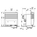 Truma S 5004 - Heizung - mit Einbaukasten für 2 Gebläse - ohne Verkleidung - 30mBar - 31571-21