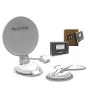 Maxview Seeker Wireless 85 cm - Vollautomatische Sat-Antenne