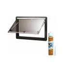 Dometic Seitz S4 Ausstellfenster - 600x500 mm (BxH) - inkl. Scheibendichtmasse