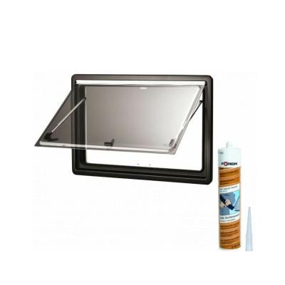Dometic Seitz S4 Ausstellfenster - 800x350 mm (BxH) - inkl. Scheibendichtmasse