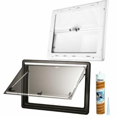 Dometic Seitz S4 Ausstellfenster - 900x500 mm (BxH) - inkl. Scheibendichtmasse