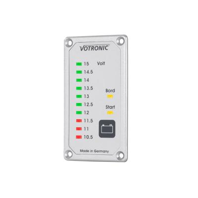 Duo-Akkutester S - 12V Batterie Anzeigepanel