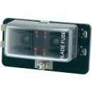 KFZ Sicherungshalter 4 Flach-Sicherungen mit LEDs ohne...