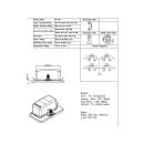 KFZ Sicherungshalter 4 Flach-Sicherungen mit LEDs ohne Sicherungen