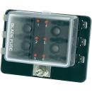 KFZ 6 Flach-Sicherungen mit LEDs Sicherungshalter ohne...