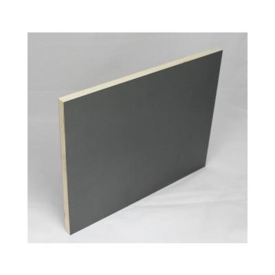 120x120cm Möbelbauplatte Schichtstoff Anthrazit Pappelsperrholz
