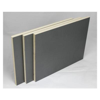 3er Set 120x120cm Möbelbauplatten Anthrazit Pappelsperrholz