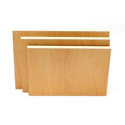 3er Set 120x120cm Möbelbauplatten Apfel Pappelsperrholz
