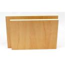 2er Set 120x162cm Möbelbauplatten Apfel Pappelsperrholz