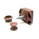 Möbelbauset 1 - 3x Push Lock groß (braun) + 6x...