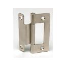 Möbelbauset 1 - 3x Push Lock groß (braun) + 6x Möbelscharnier