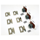 Möbelbauset 1 - 3x Push Lock groß (grau) + 6x...