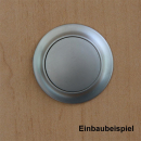 Premium Push Lock Schlösser - 3er Set - silber (vernickelt)