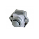 Push Lock Schlösser - Mini - 26mm Rosette+Knopf -...