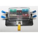 KFZ Sicherungshalter 4 Flach-Sicherungen mit LEDs inkl....