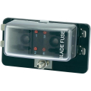 KFZ Sicherungshalter 4 Flach-Sicherungen mit LEDs inkl. Sicherungen