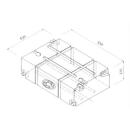 Wassertank - Universaltank 150l -  natur - V150 -...