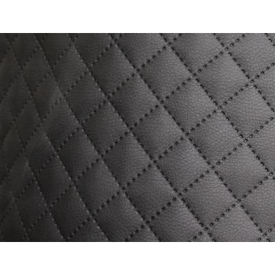 Möbelstoff Schwarz Karo 40 m ( Rolle ) - Stoff Kunstleder Polsterstoff Karostoff