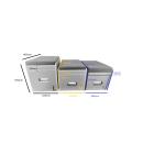 Toiletten Hocker mit Toilette Porta Potti 345 - Polster schwarz Stauraum Hocker