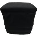 Stoffhocker schwarz für Thetford Porta Potti 335 mit Polster
