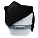 Stoffhocker schwarz für Thetford Porta Potti 165/365 mit Polster