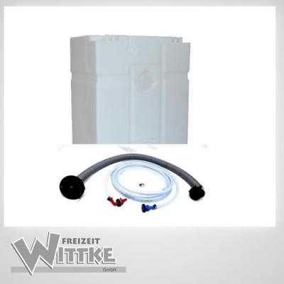 Wassertank - Universaltank 200l -  natur - V200 - Kanister - Tank inkl. Zubehör
