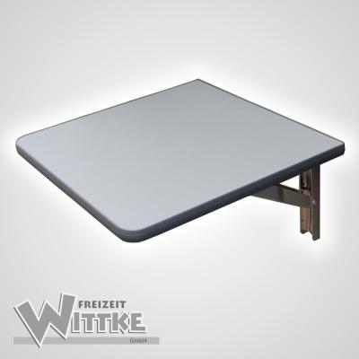 Wandklapptisch mit stahlverzinkten Klappenaussteller Anthrazit-Metallic B40 x T31 cm