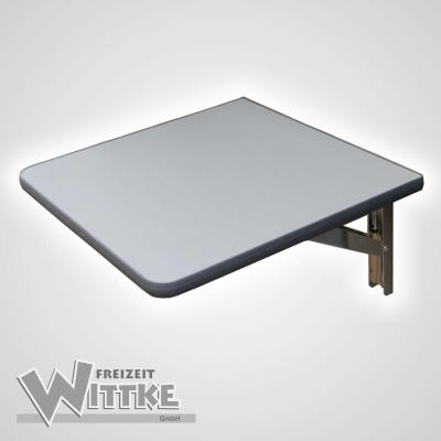 Wandklapptisch mit stahlverzinkten Klappenaussteller Anthrazit-Metallic B30 x T40 cm
