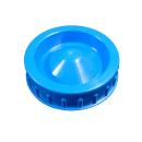 Schraubverschluss NW96 selbstdichtend - blau - Deckel...