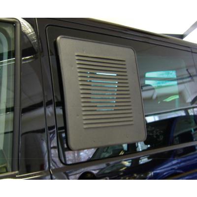 HKG Lüftungsgitter - VW T5/6 Schiebefenster links - Exklusiv Struktur Anthrazit