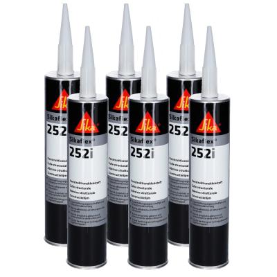 Sikaflex 252i - Konstruktionsklebstoff - 300ml - schwarz - 6er Set