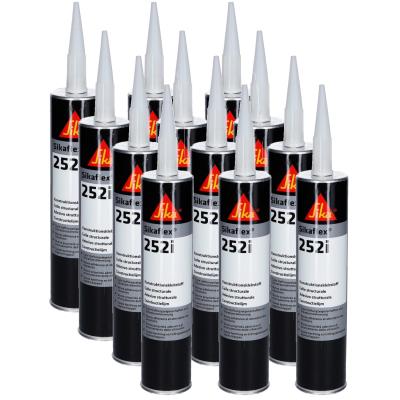 Sikaflex 252i - Konstruktionsklebstoff - 300ml - schwarz - 12er Set
