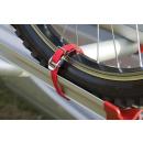 2er Set - Fiamma Strip - Gurte für Carry-Bike Fahrradträger 2 Stück rot
