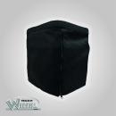 Stoffhocker schwarz für Bi-Pot 30 mit Polster und...