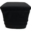 Stoffhocker schwarz für Thetford Porta Potti 145 mit...